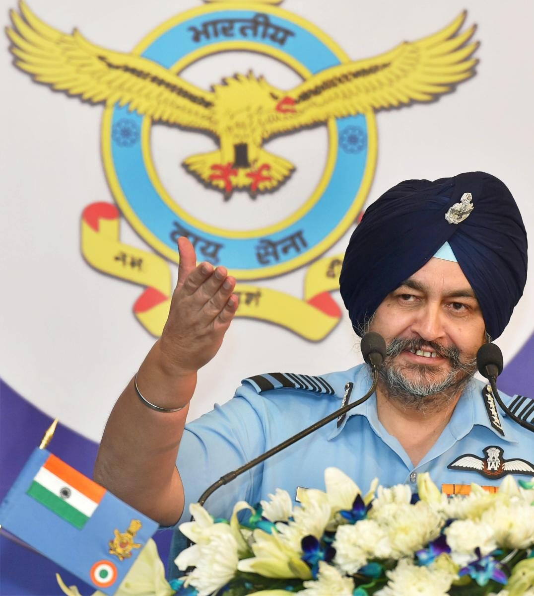 Spending long hours on social media in the night is leading to IAF pilots being sleep deprived, Air Chief Marshal B S Dhanoa said Friday as he sought a system to identify if they had slept enough before taking off on sorties. (PTI file photo)