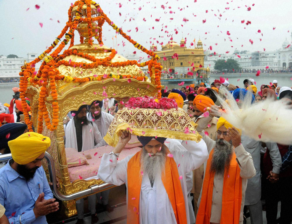 A number of religious activities like kirtan, katha, prabhat pheri, langar and educational activities such as seminars, workshops and lectures will be organised. PTI file photo