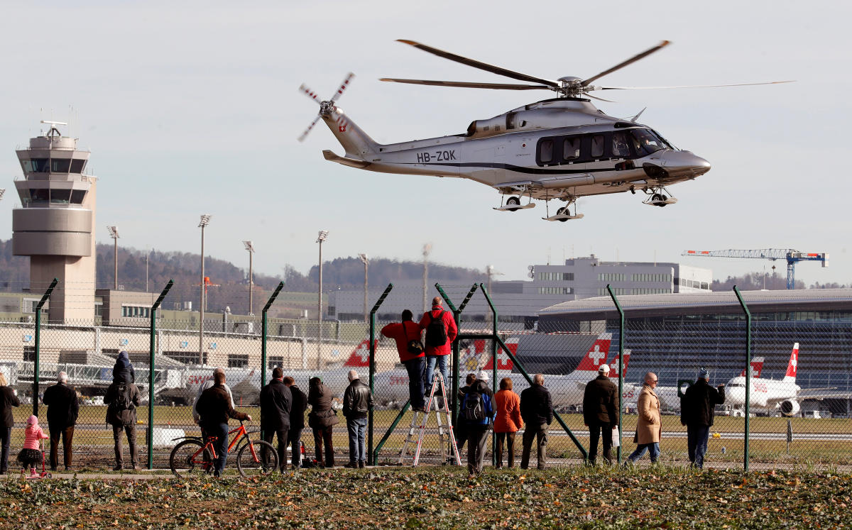Agusta-Westland AW-139 helicopter. (Reuters file photo for representation)