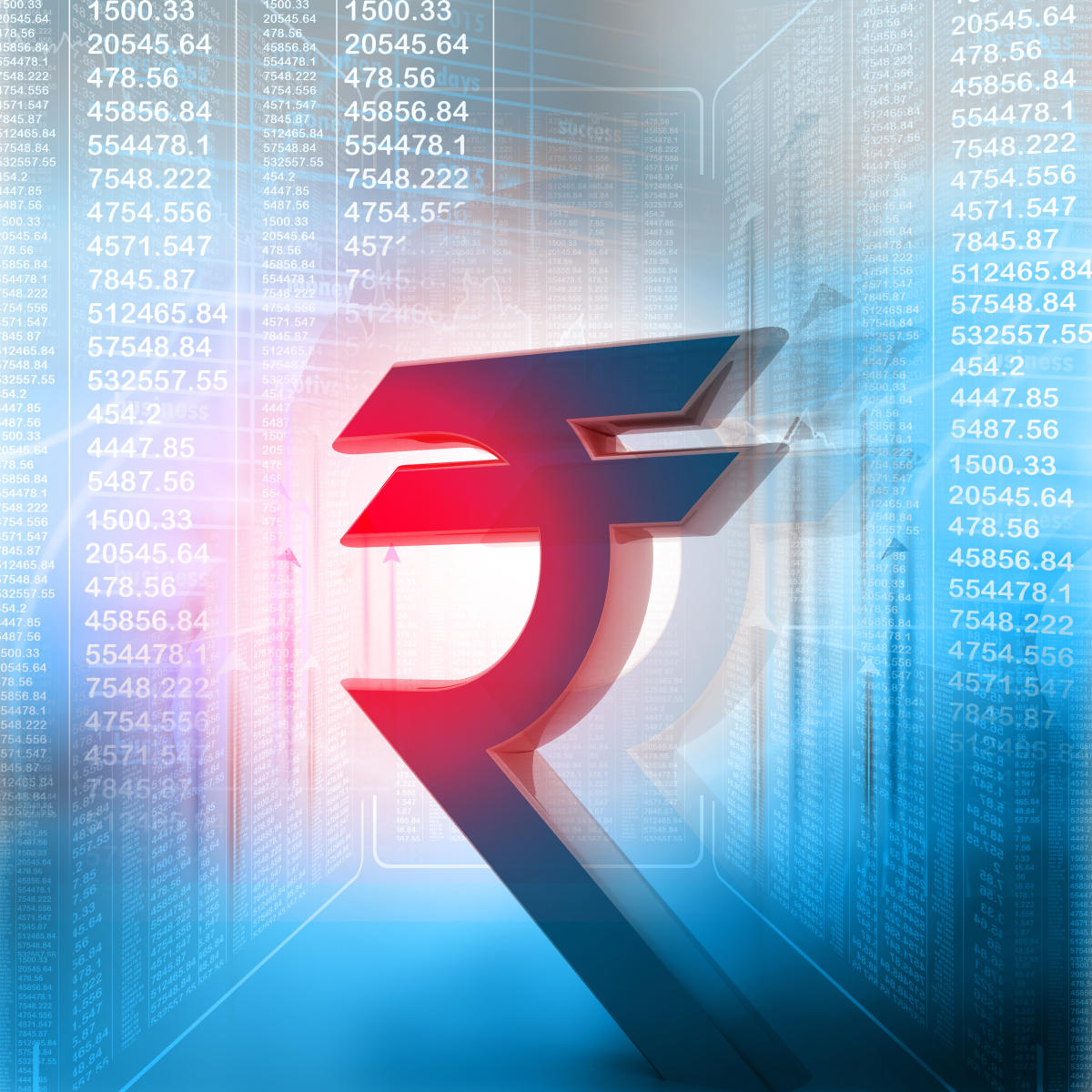 Besides, the dollar's weakness against some currencies overseas also supported the rupee.