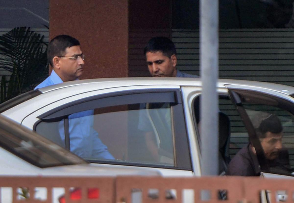Central Bureau of Investigation (CBI) Special Director Rakesh Asthana at Central Vigilance Commission (CVC) in New Delhi. (PTI Photo)