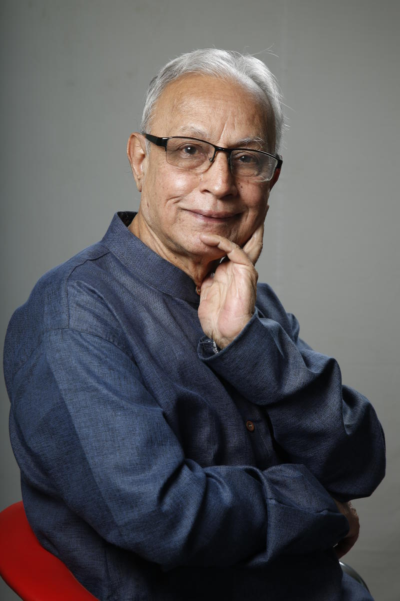 Uncle Shyam has been active in theatre for four decades.