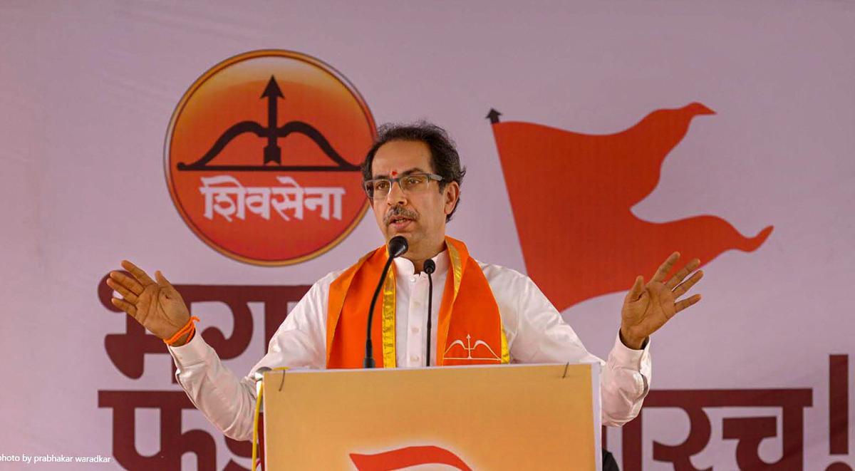 Shiv Sena president Uddhav Thackeray. PTI file photo