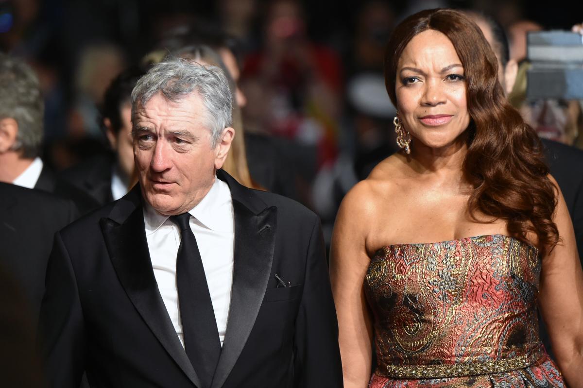 Robert de Niro and his wife Grace Hightower. AFP File Photo