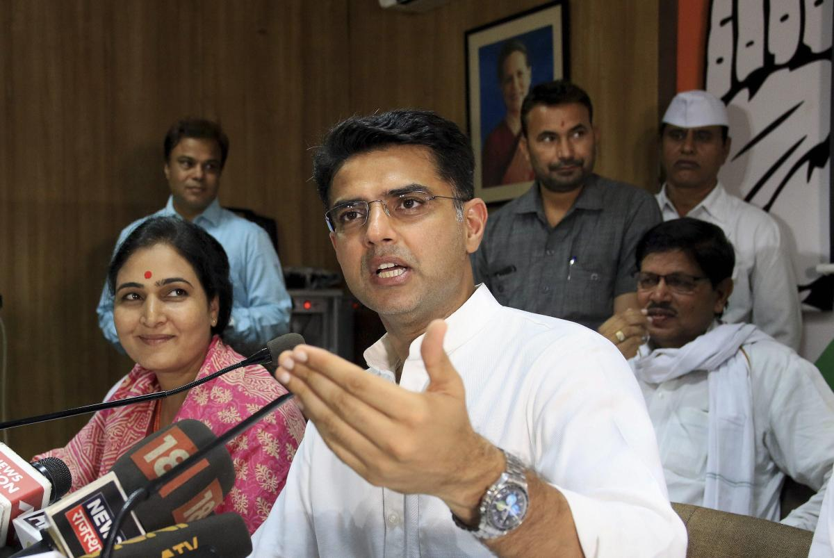 In a surprise move, the Bhartiya Janta Party fielded its state minister and the lone Muslim candidate Yunus Khan, against Pradesh Congress Committee president Sachin Pilot from Tonk for the December 7 Assembly polls. PTI file photo