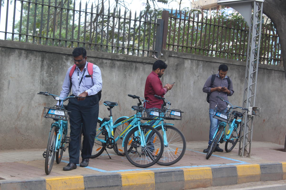Dockless bike-sharing is expected to make a big difference in Electronics City, where the emergence of residential apartments, schools and colleges has sparked a huge spike in traffic.