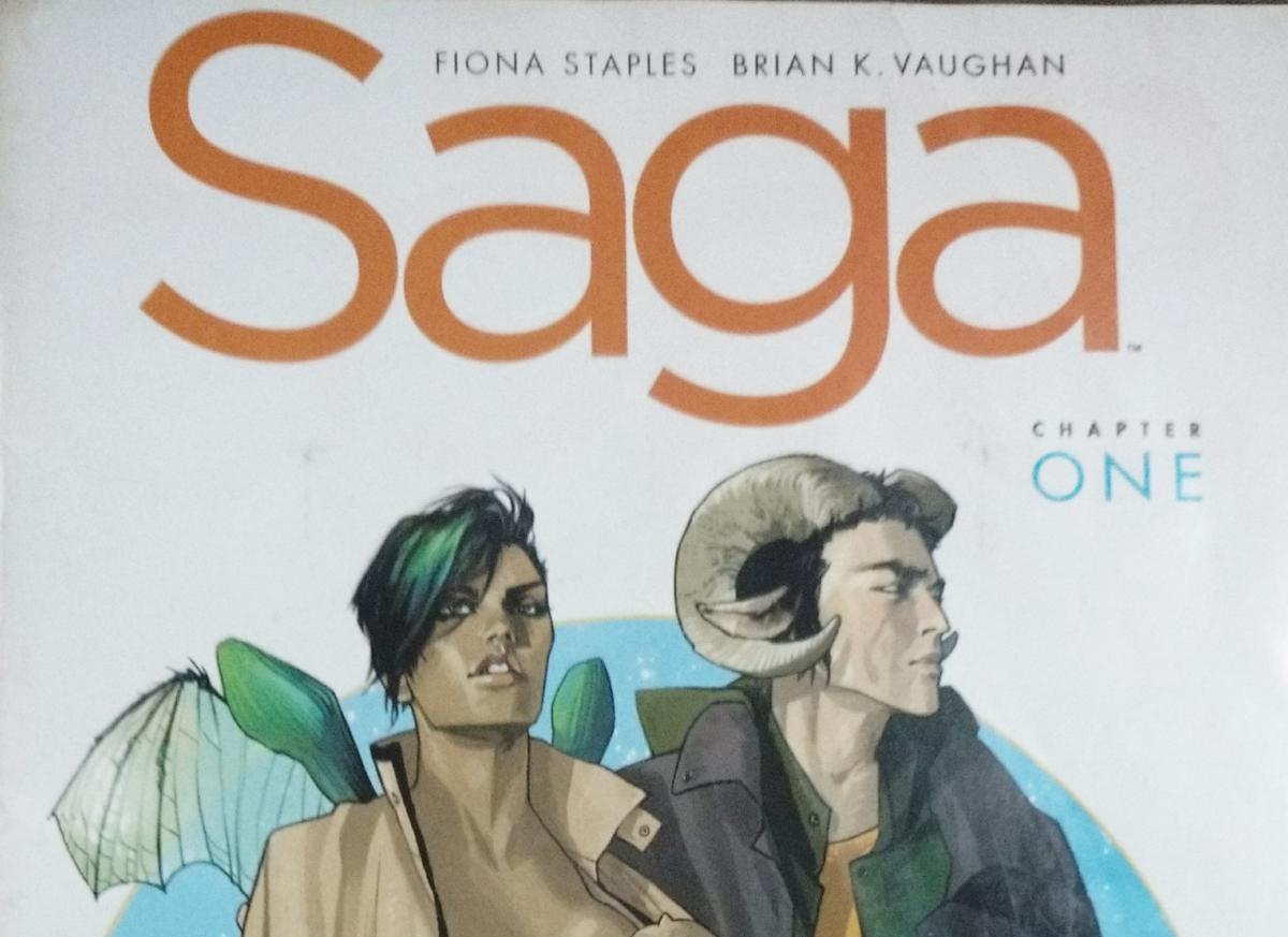 One of the comics' covers