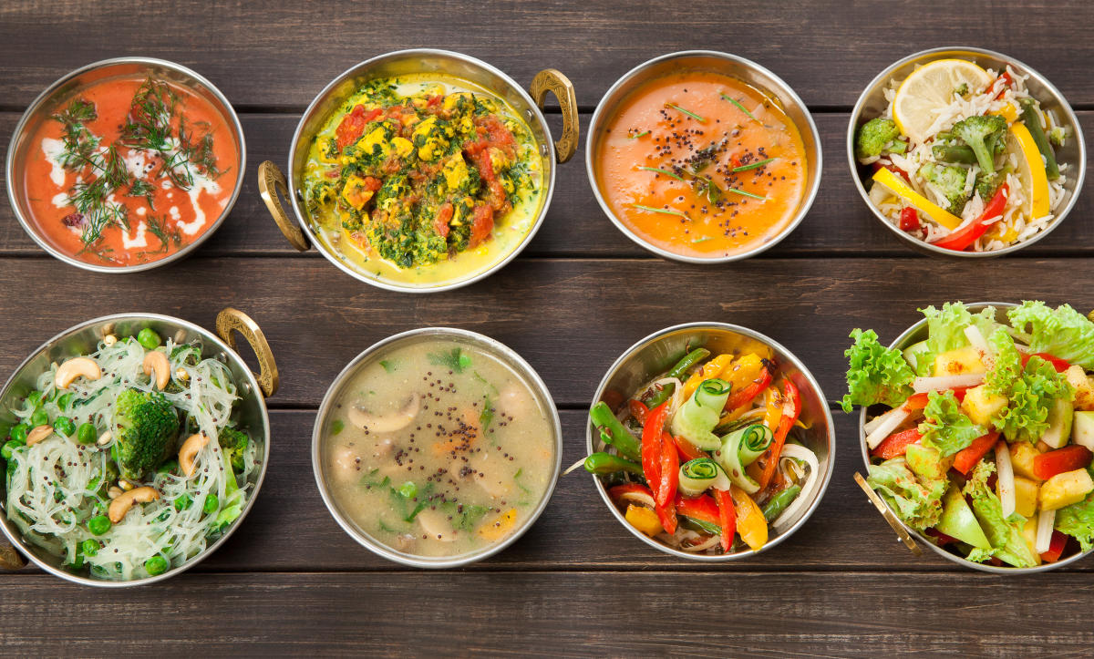 ManySouth Indian dishes are vegan-friendly.