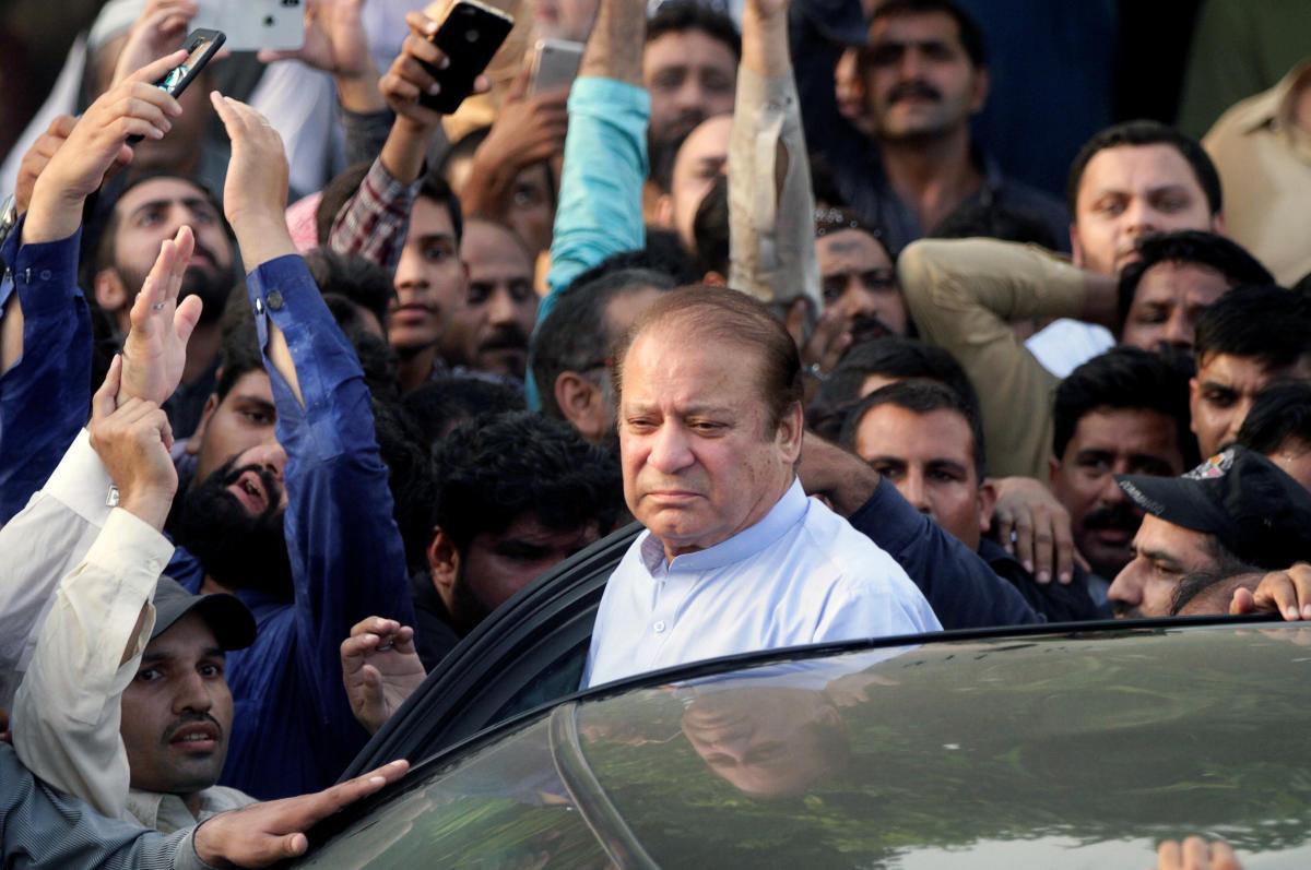 Former Pakistan premiers Nawaz Sharif. (Reuters File Photo)