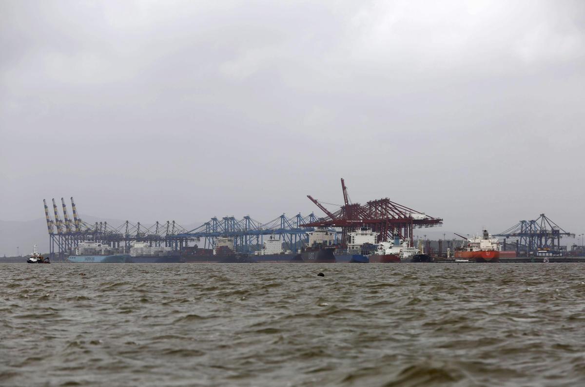 A general view of the Jawaharlal Nehru Port Trust (JNPT) in Mumbai. REUTERS File Photo