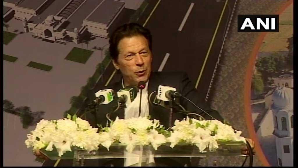 Pakistan Prime Minister Imran Khan. (Image courtesy ANI/Twitter)