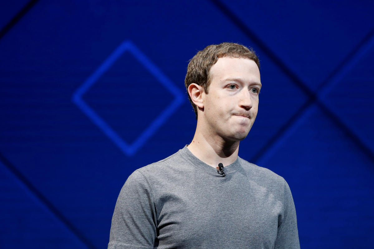 Facebook Founder and CEO Mark Zuckerberg. Reuters File Photo
