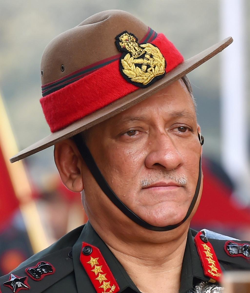 Chief of Army Staff, General Bipin Rawat. PTI Photo