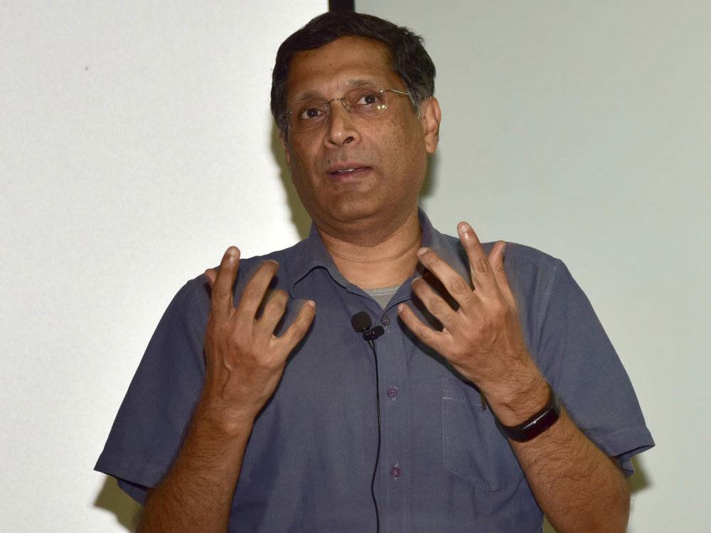 Former chief economic advisor (CEA) Arvind Subramanian.
