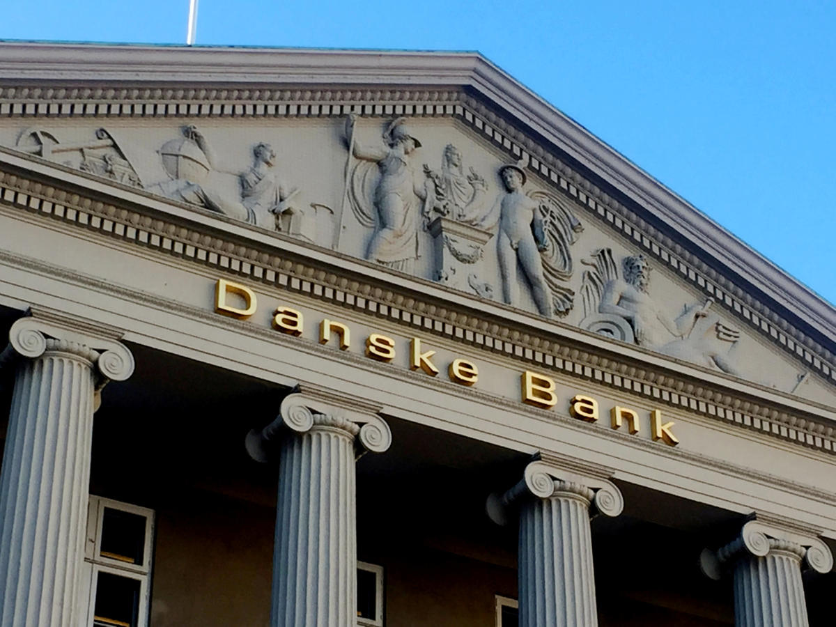 The Danske Bank building in Copenhagen.Reuters