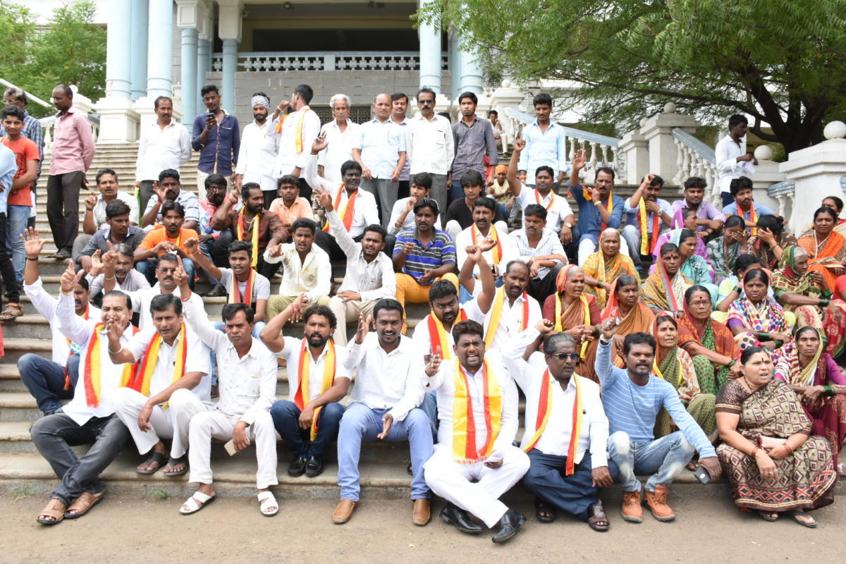 Anultimatum would be given to the state government to meet demands by December 10 (the first day of the winter session of the state legislature). If there is no response from the state government, NKDF wants to intensify its protest. DH file photo