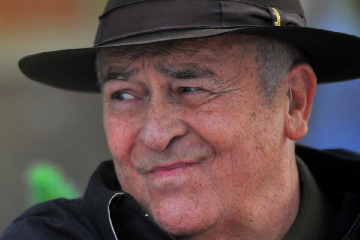 Italian film director Bernardo Bertolucci during the photocall for 'Io e Te' (Me and You) in Rome on October 18, 2012. AFP