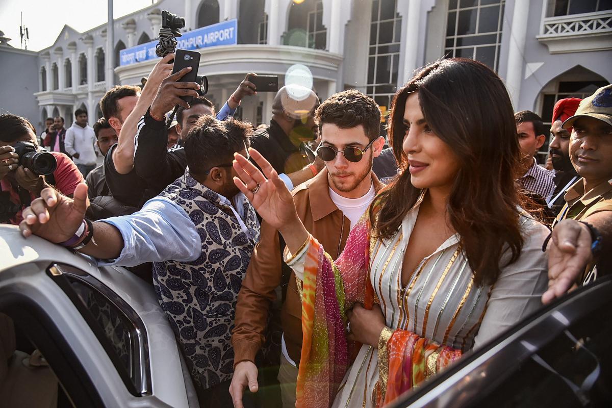 Priyanka Chopra and Nick Jonas on Saturday said 'I do' as they exchanged wedding vows as per Catholic traditions at Umaid Bhawan Palace here. PTI file photo
