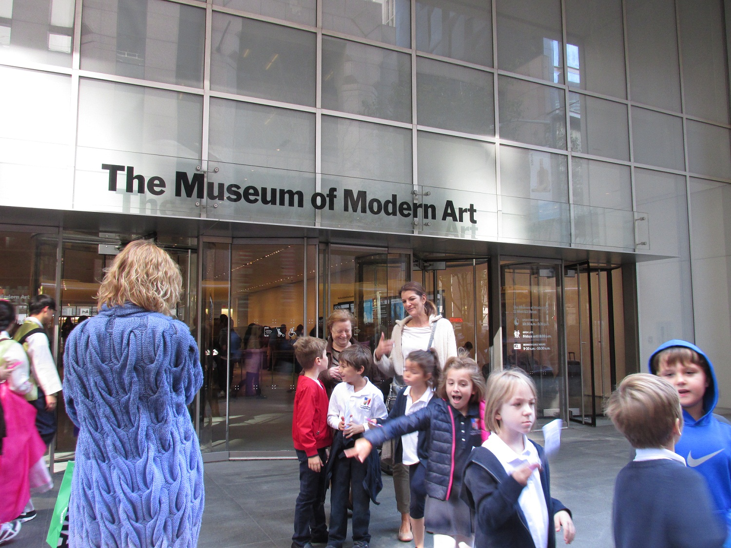 The museum is a must-visit in New York.