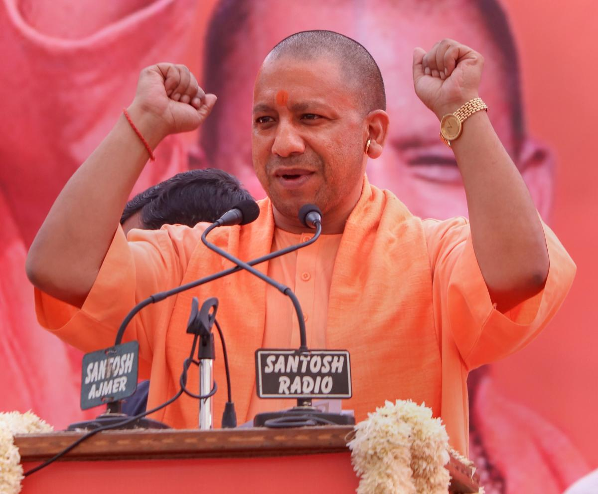 HYV is an outfit formed by Uttar Pradesh Chief Minister Yogi Adityanath. PTI photo