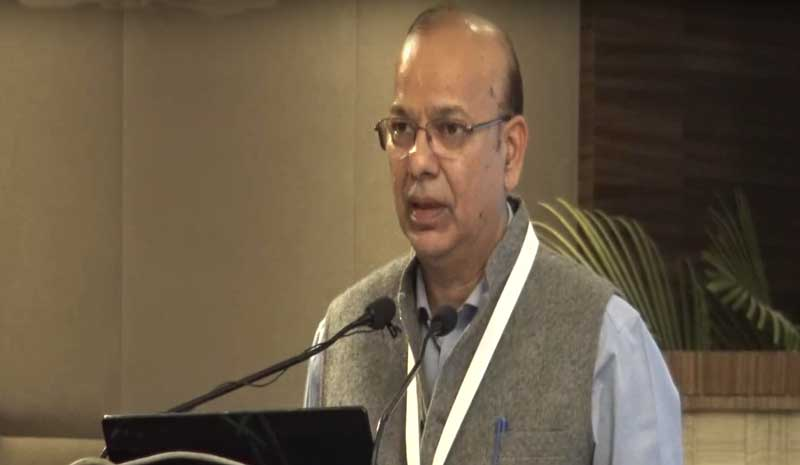 Jha is a 1982-batch IAS officer of Manipur Tripura cadre. (Image: Youtube Screengrab/Dr KK Aggarwal)