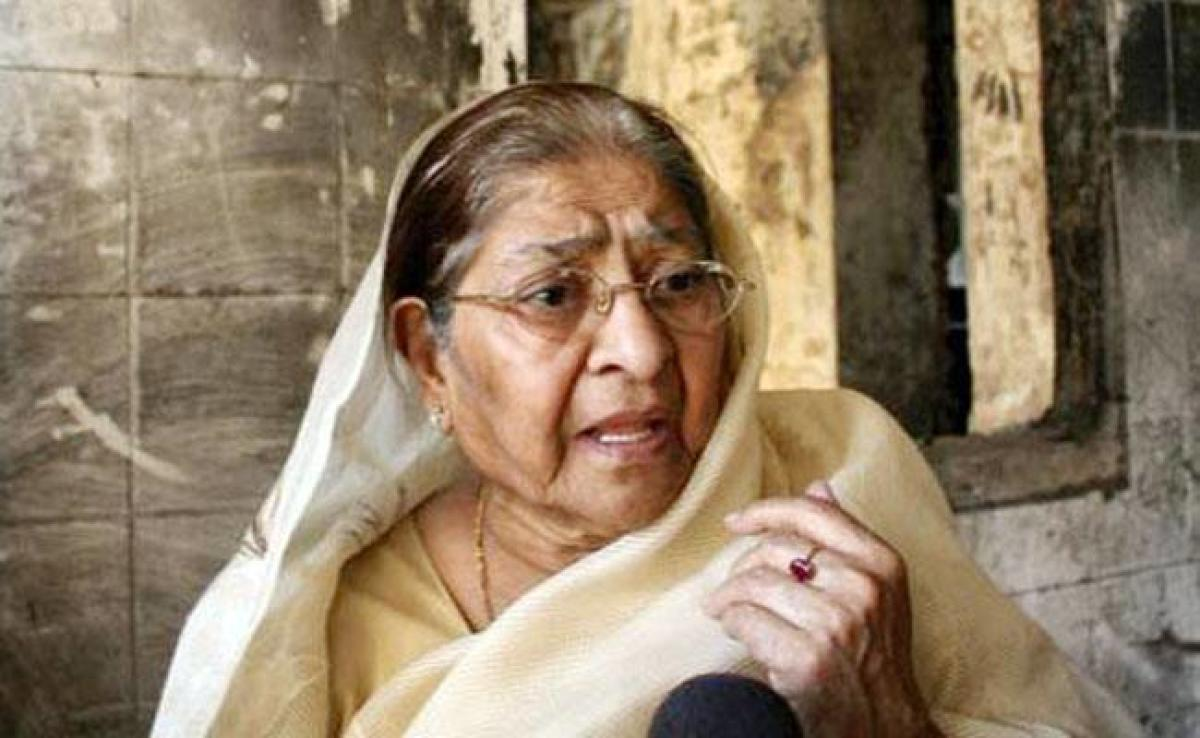 Zakia Jafri. (File photo)