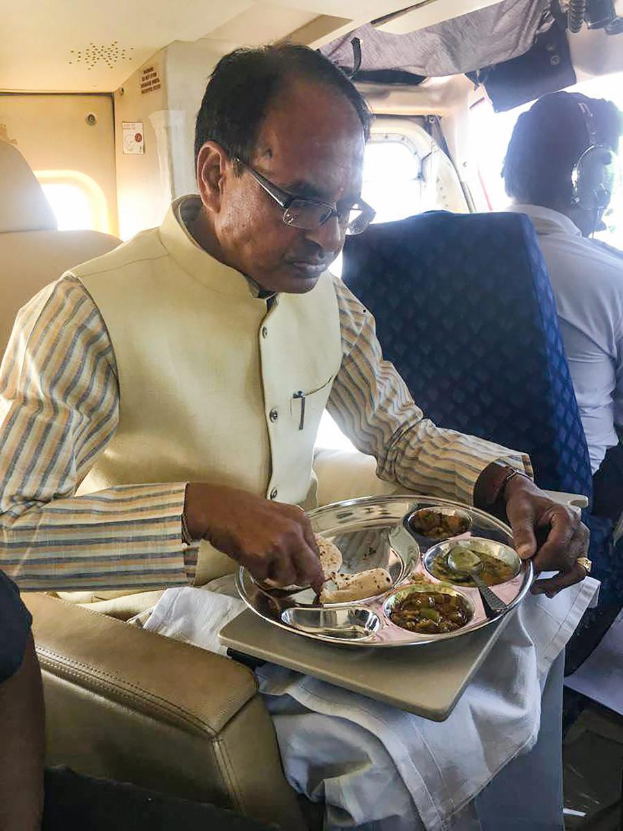 Shivraj Singh Chouhan. PTI