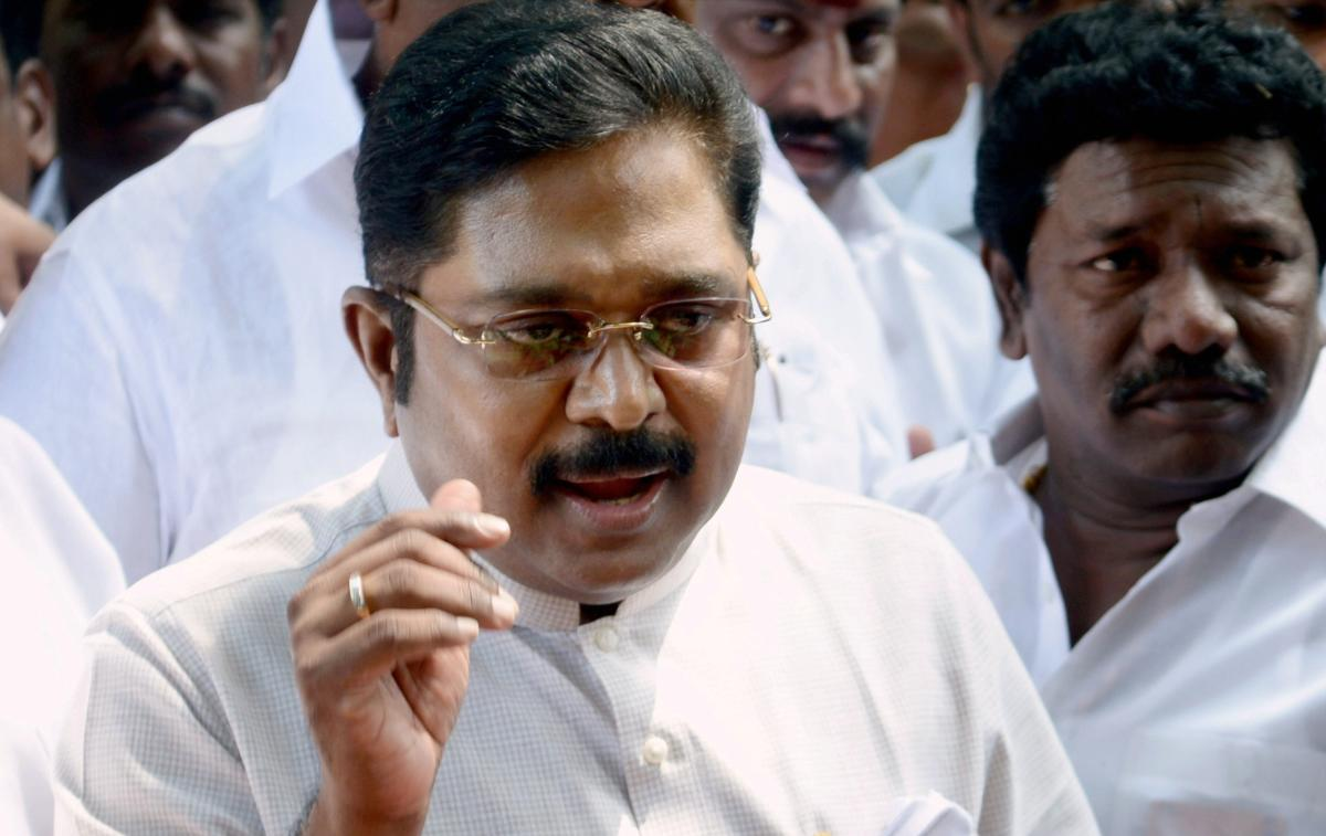Dhinakaran, who floated the Amma Makkal Munnetra Kazhagam party after being expelled from the AIADMK, was arrested in April 2017 here and later granted bail. (PTI file photo)