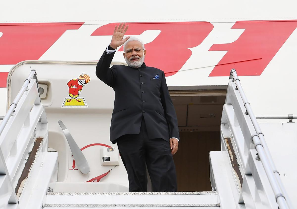 Modi and Guterres met last week on the sidelines of the G-20 Summit in Buenos Aires, Argentina, where the two held discussions about climate change and India's support for the Paris Climate Agreement. (PIB Photo)