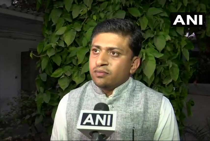 Asked about the issue, Joseph said his relations with the Congress were separate, and his profession was separate. He said he was only discharging his duties as a lawyer which has nothing to do with the Congress. (Image: ANI/Twitter)