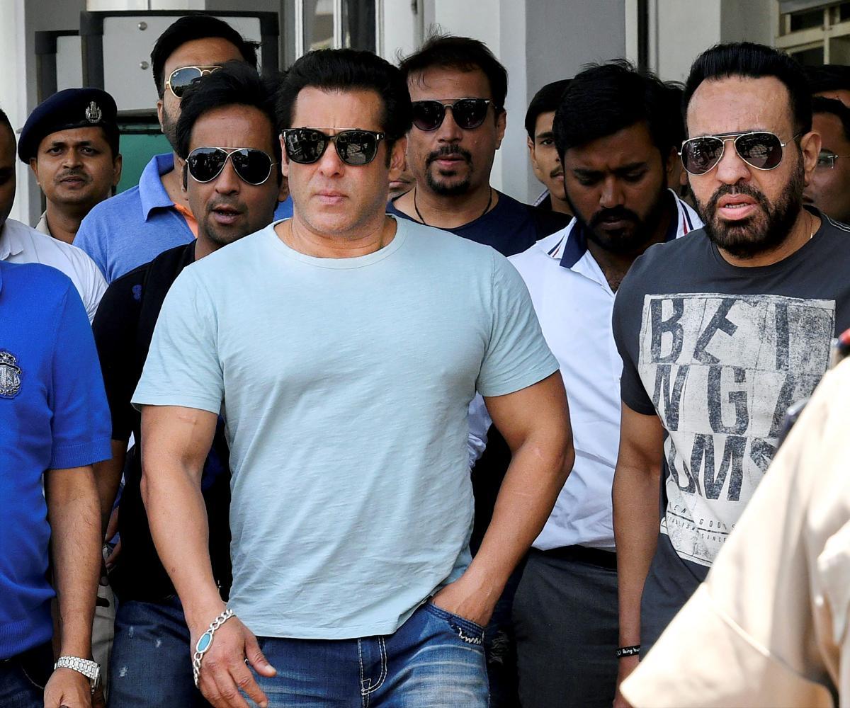 Bollywood actor Salman Khan. (PTI Photo)