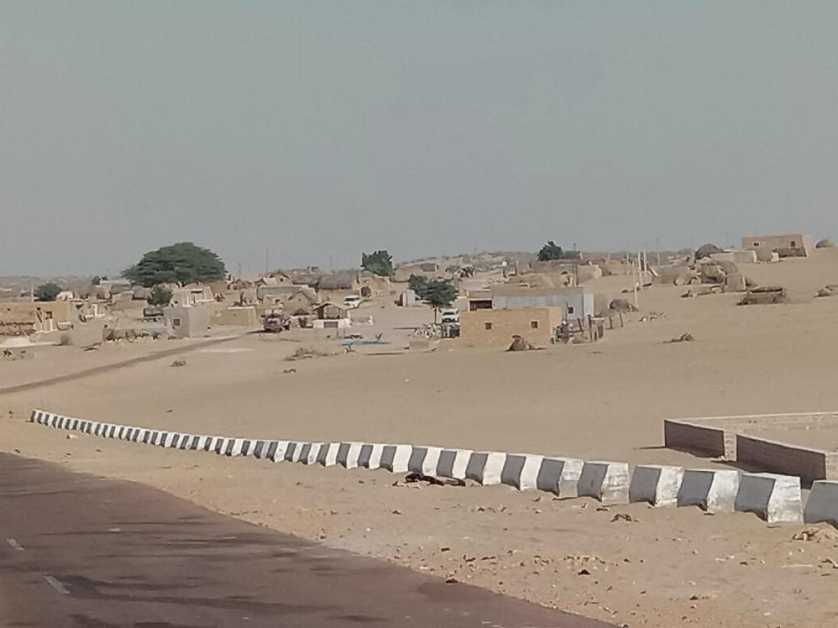 A view of Rantaur village, close to Pakistan border in Rajasthan.