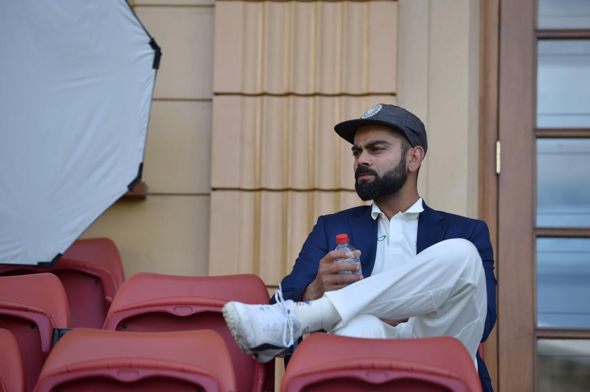 ALL EYES ON HIM: Indian captain Virat Kohli at the Adelaide Oval in Adelaide on Wednesday. AFP