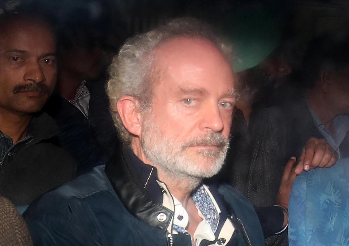 Christian Michel. PTI