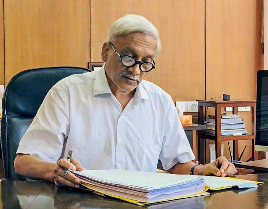 Goa Chief Minister Manohar Parrikar. PTI file photo