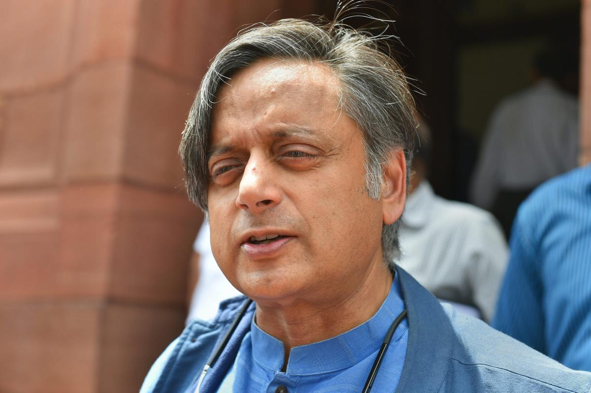 Congress MP Shashi Tharoor. PTI File Photo