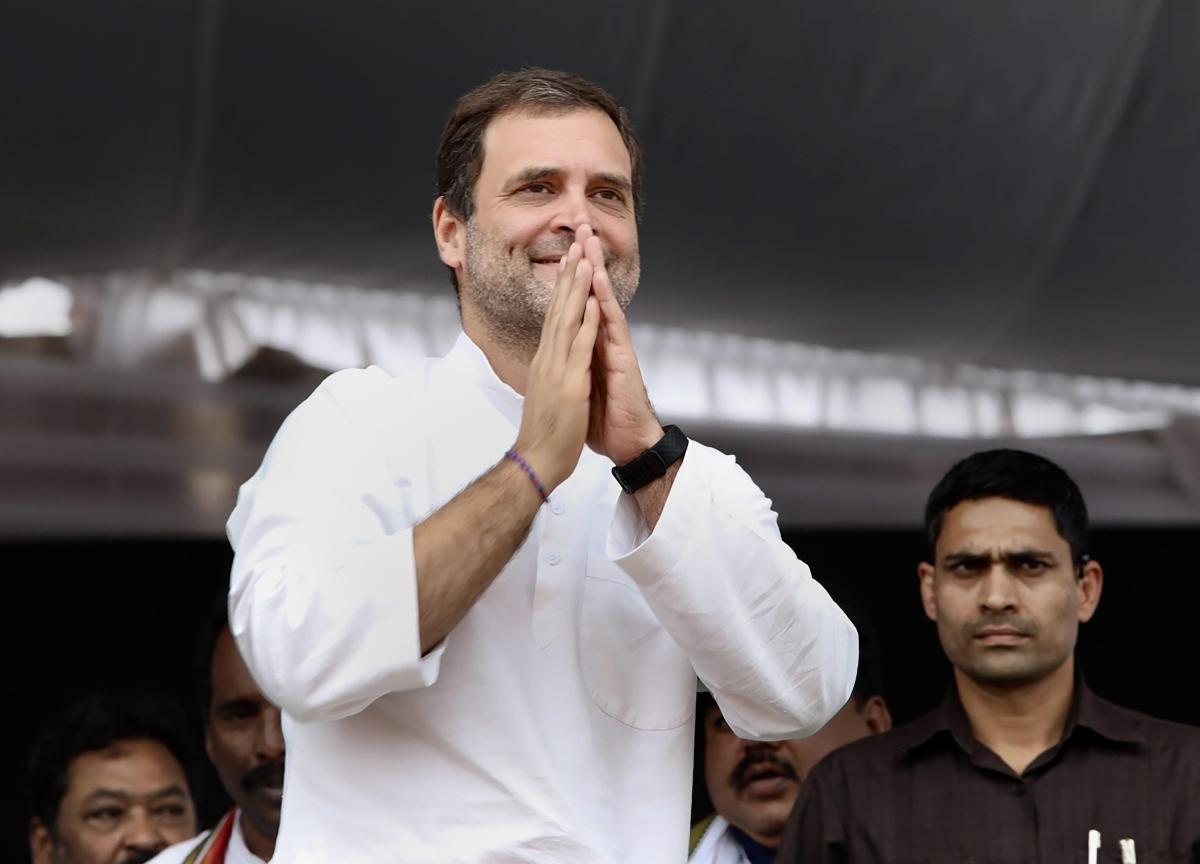 Congress president Rahul Gandhi. PTI
