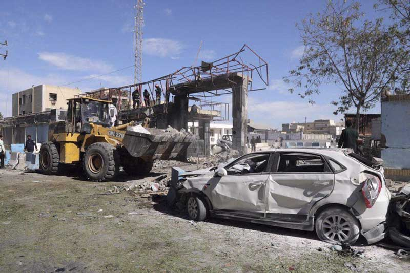 At least two policemen were killed and several others injured in a suicide attack in Chabahar early on Thursday. (AP/PTI Photo)