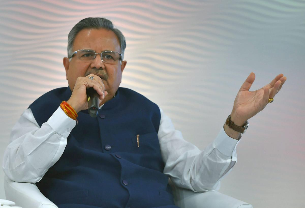 "Chhattisgarh Chief Minister Raman Singh on Monday said his government is making efforts through development projects to ""soon neutralise"" the ideological and financial support the naxalites receive from sympathisers from Raipur to Delhi. PTI file photo"