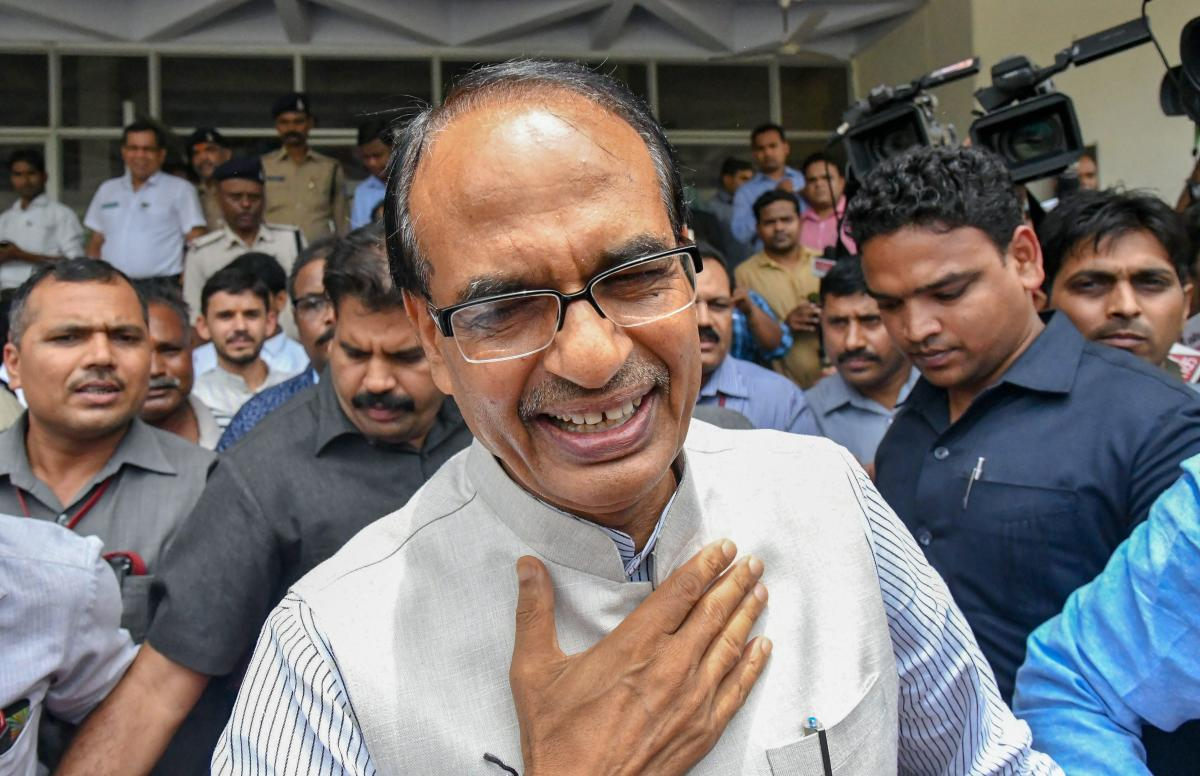 Emerging after a meetingwith senior party leaders in Bhopal, Chouhan said that though the BJP has got a bigger percentage of votes than Congress in the assembly polls, it could not muster the numbers to form government and bowbefore the numerical strength on the other side. (PTI file photo)