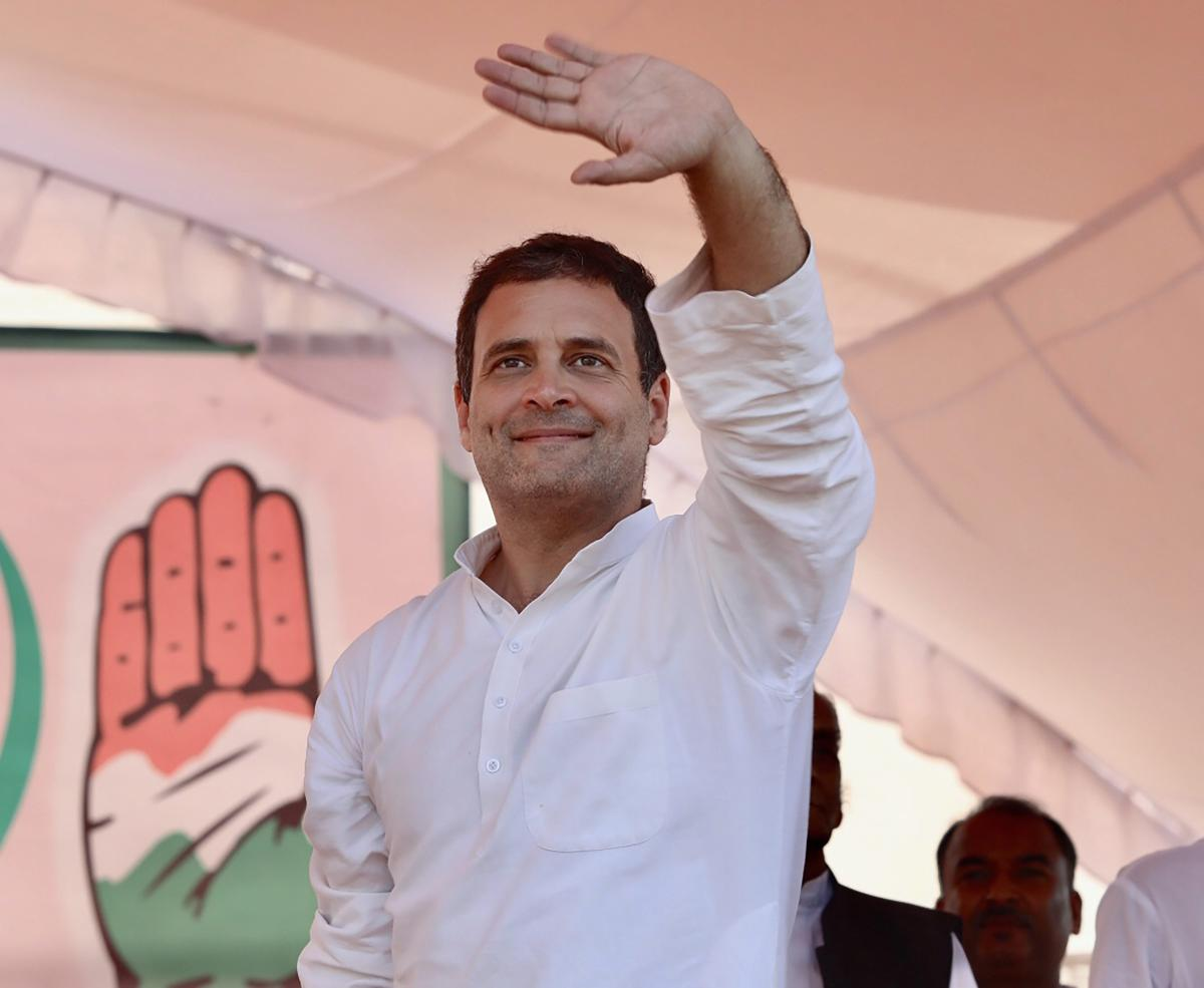 Congress president Rahul Gandhi on Saturday accused the ruling BJP of working for the interest of a few rich people and ignoring the farmers and other sections of the society. PTI file photo