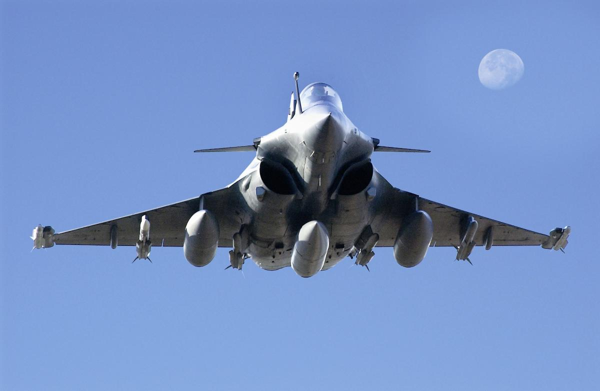 The Rafale fighter is a twin-engine Medium Multi-Role Combat Aircraft (MMRCA).