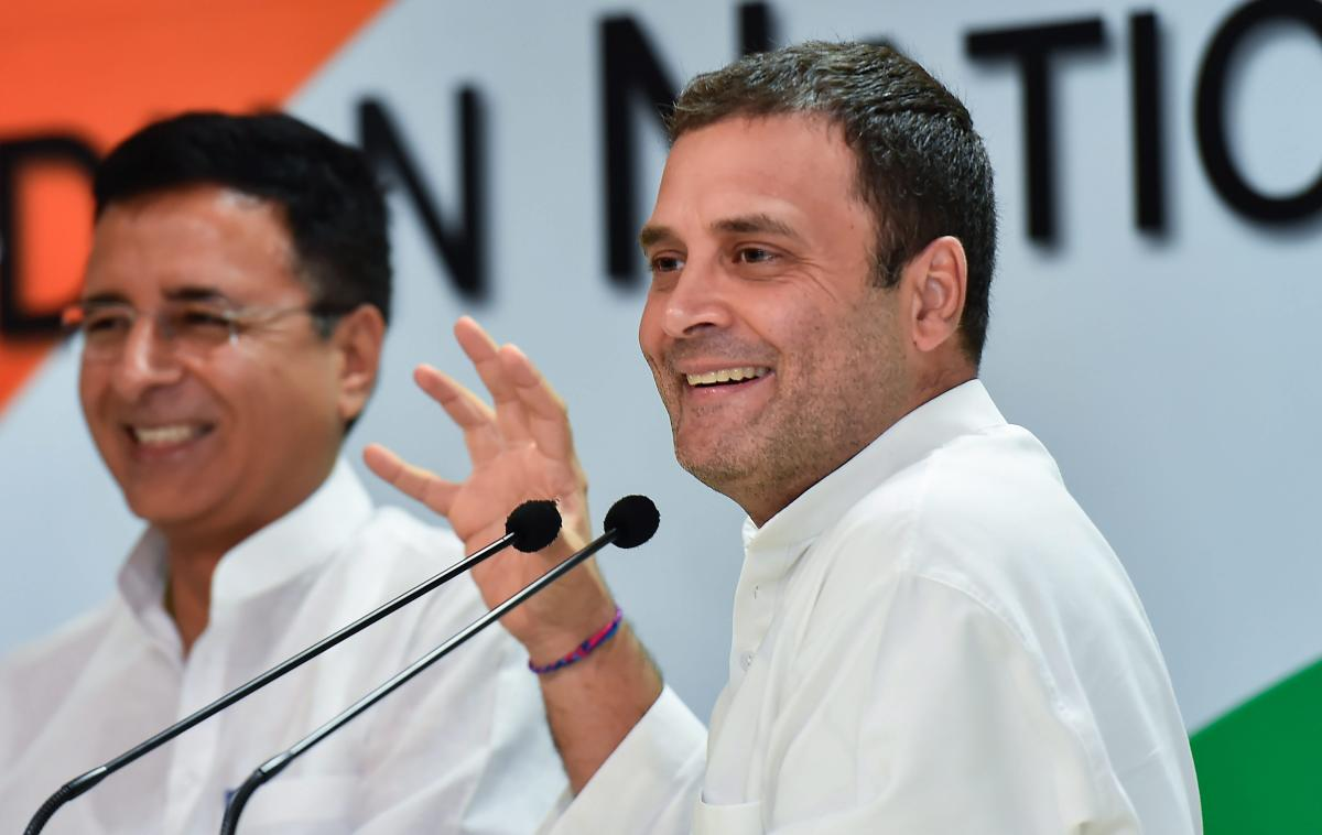 """""""The Rafale deal is an open and shut case. It was a partnership between Prime minister Narendra Modi and Anil Ambani,"""" he said. (PTI File Photo)"""