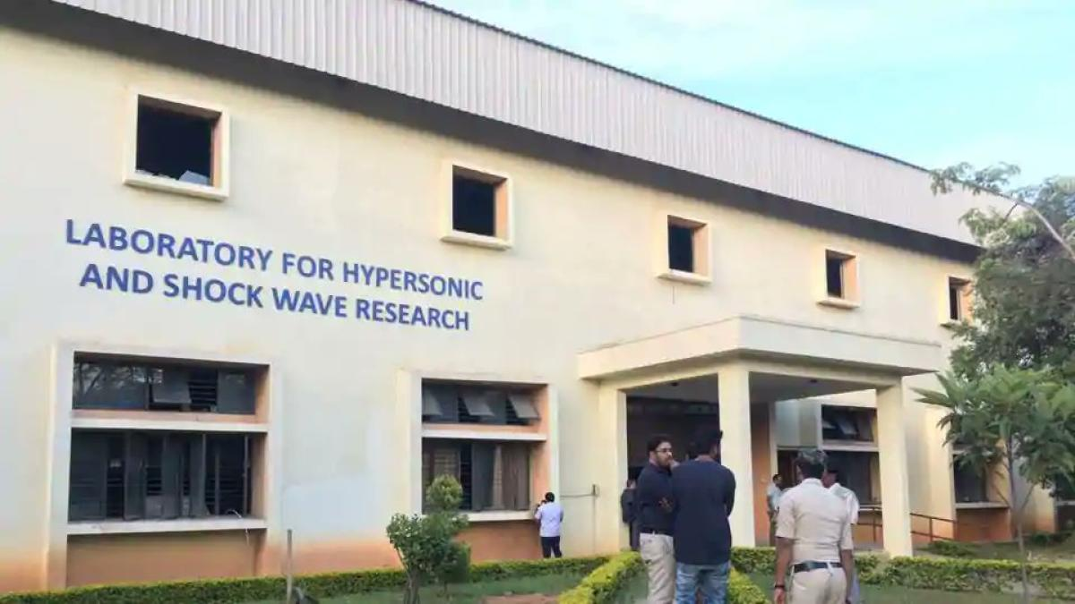 The laboratory of Hypersonic and Shockwave Research of the Indian Institute of Science.