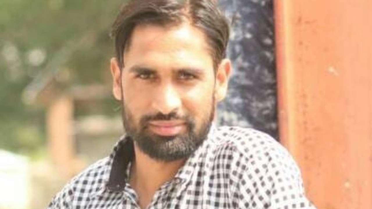 In picture: Khursheed Ahmad Malik.