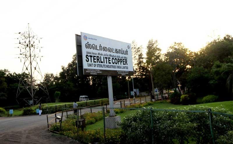 Vedanta's Sterlite Copper unit ,in Tuticorin on Thursday. PTI Photo