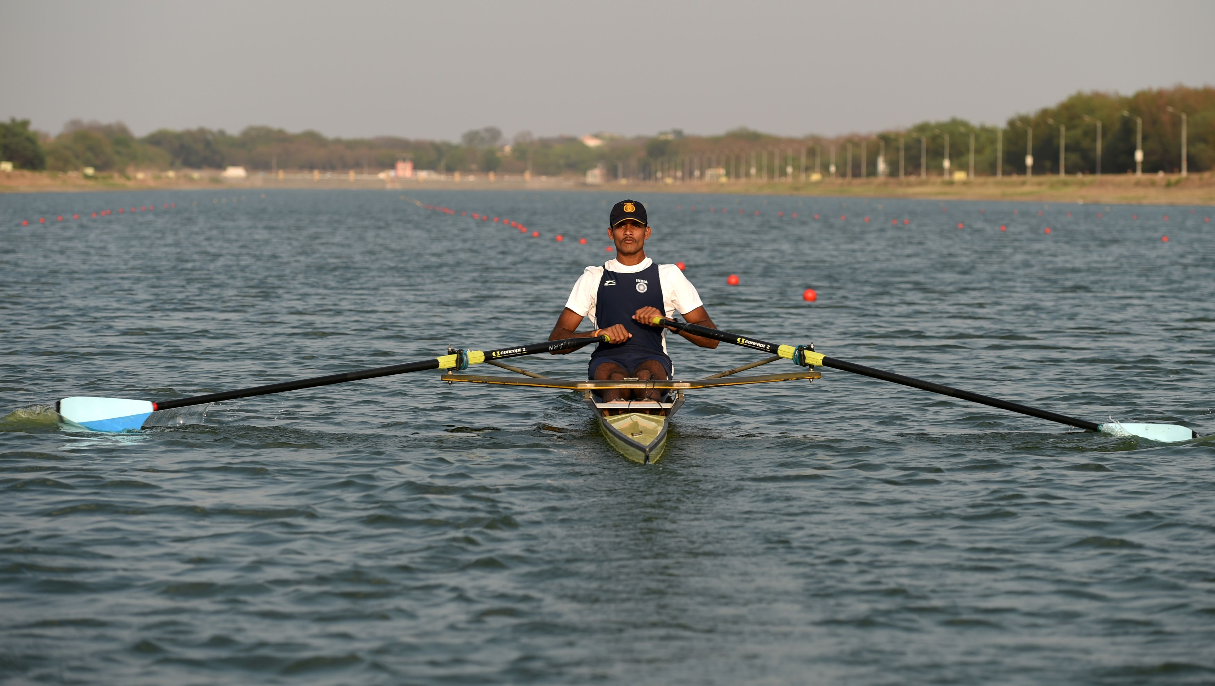 Dattu Bhokanal is among the Indian medal hopefuls in Jakarta.