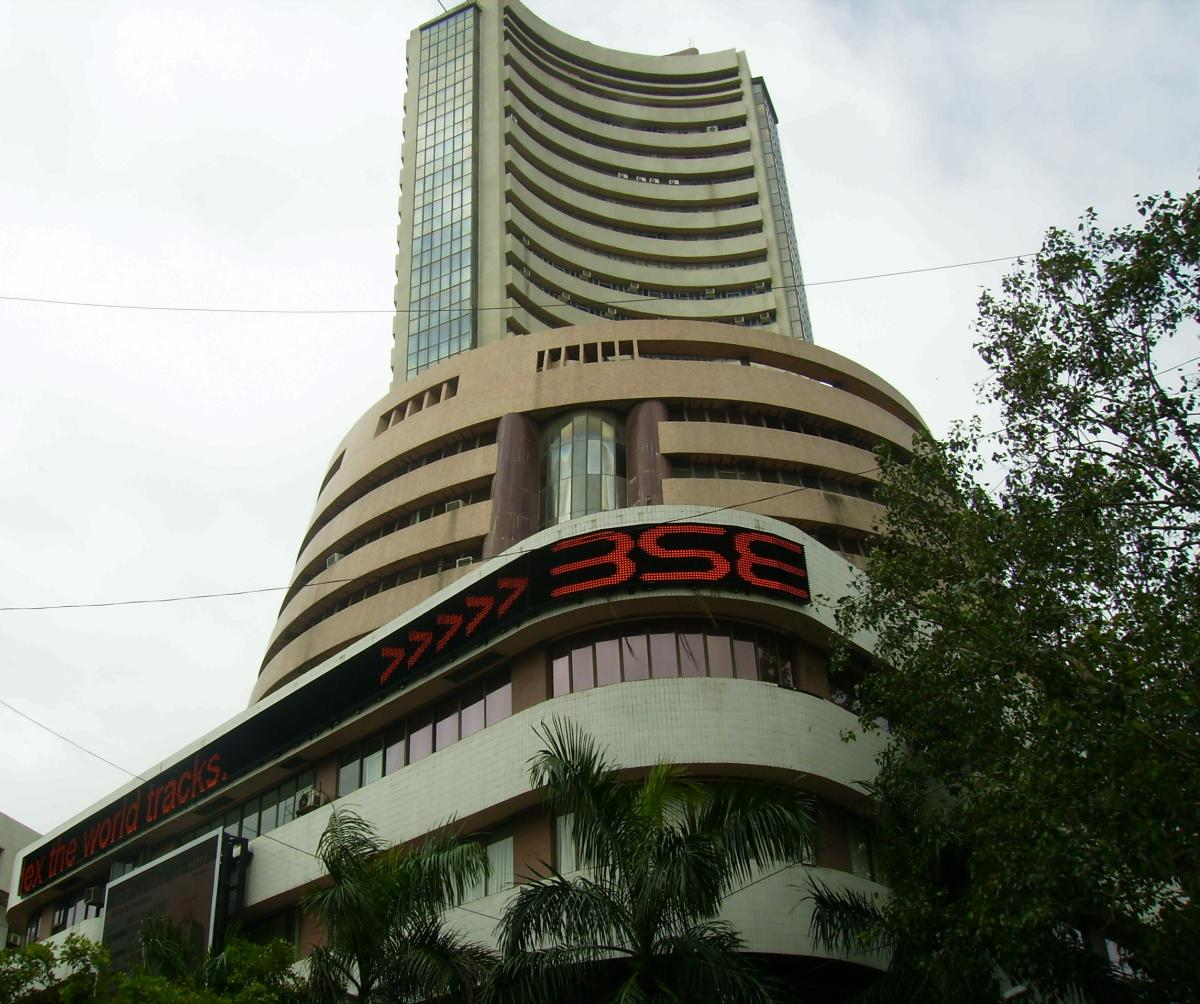 The BSE benchmark index crashed 509.04 points to end at 37,413.13