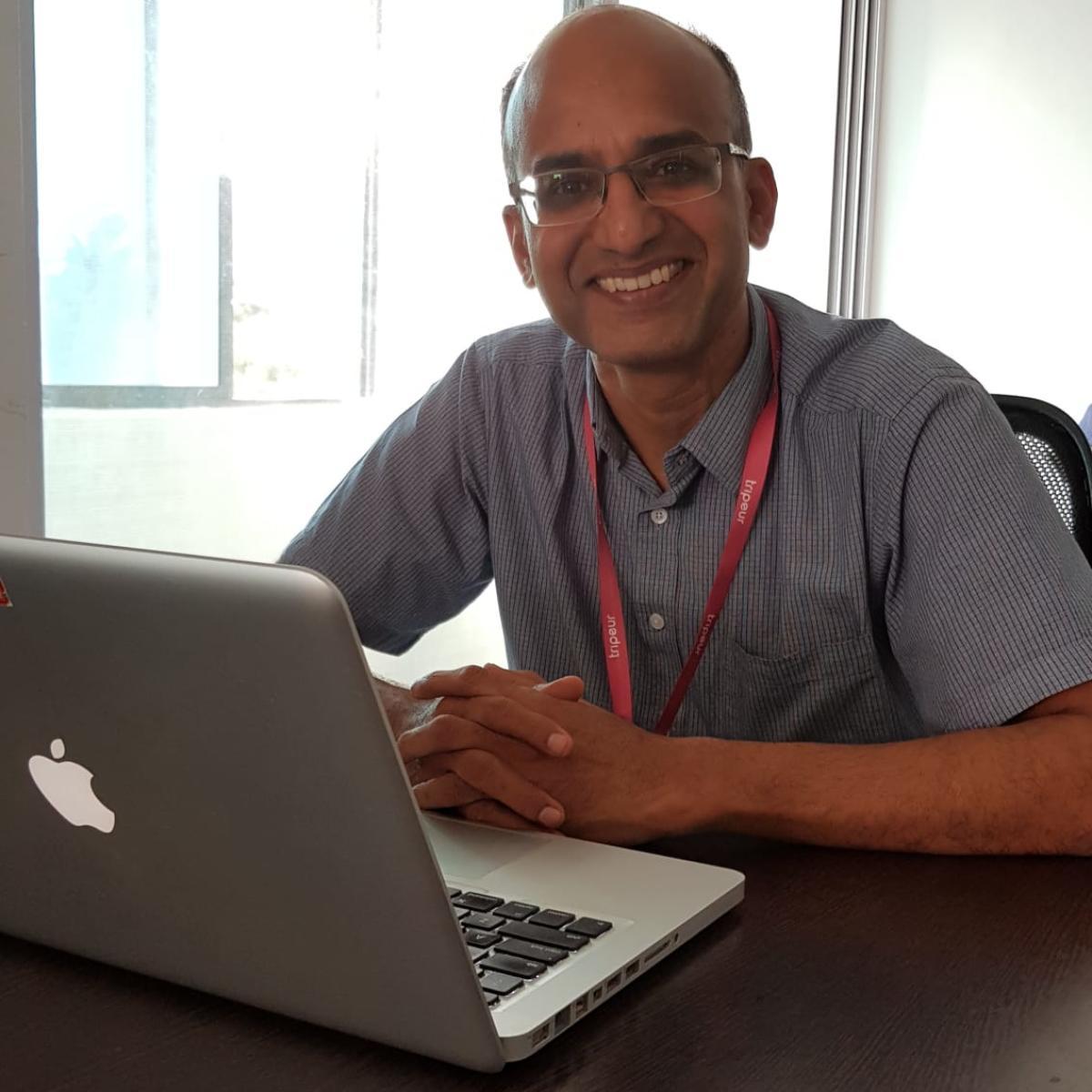 Tripeur CEO and Founder Thiagarajan Rajagopalan