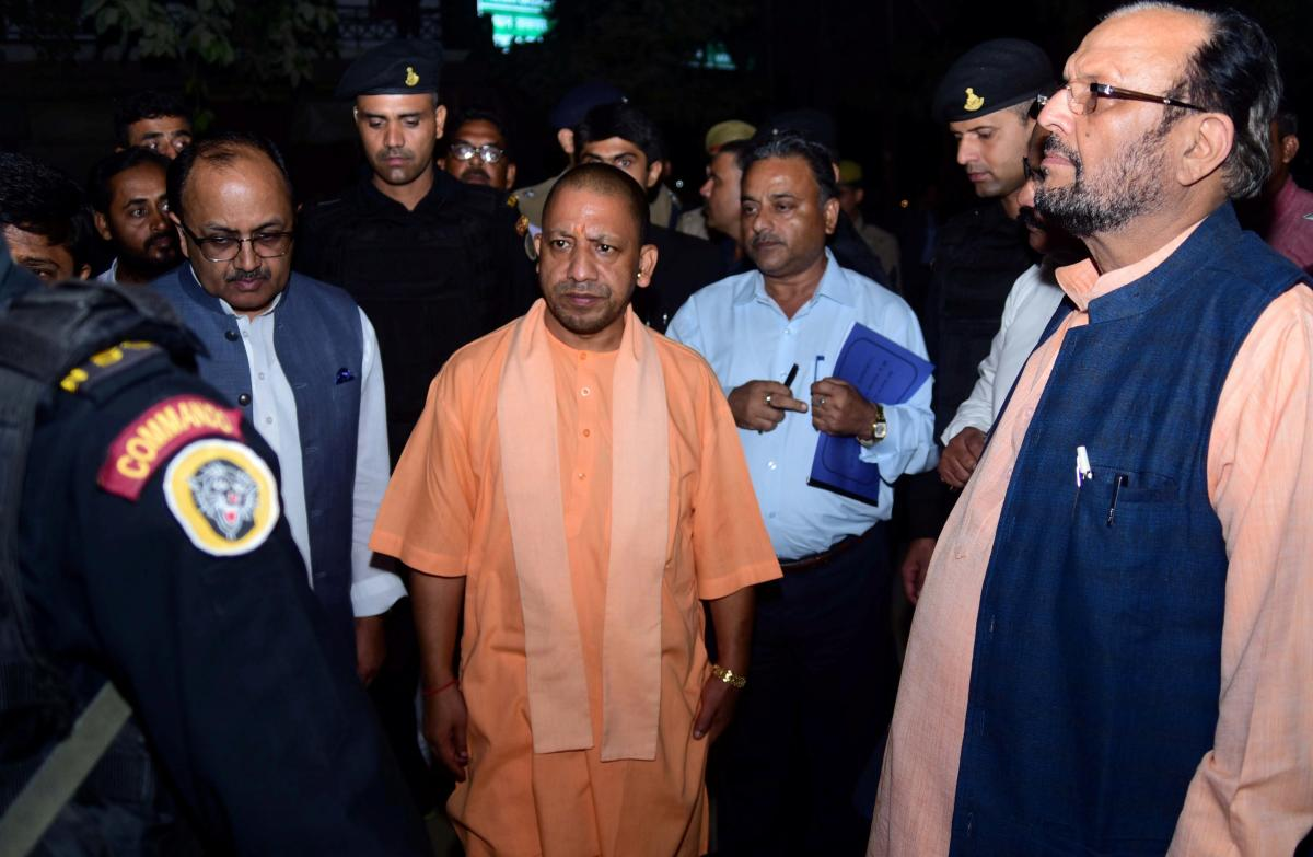 Yogi Adityanath. PTI/FILE